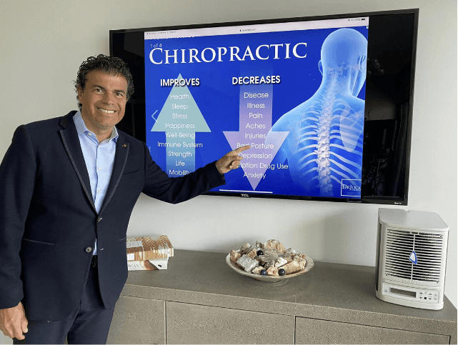 Dr. Fabrizio Mancini recommends Triad Aer purifiers
